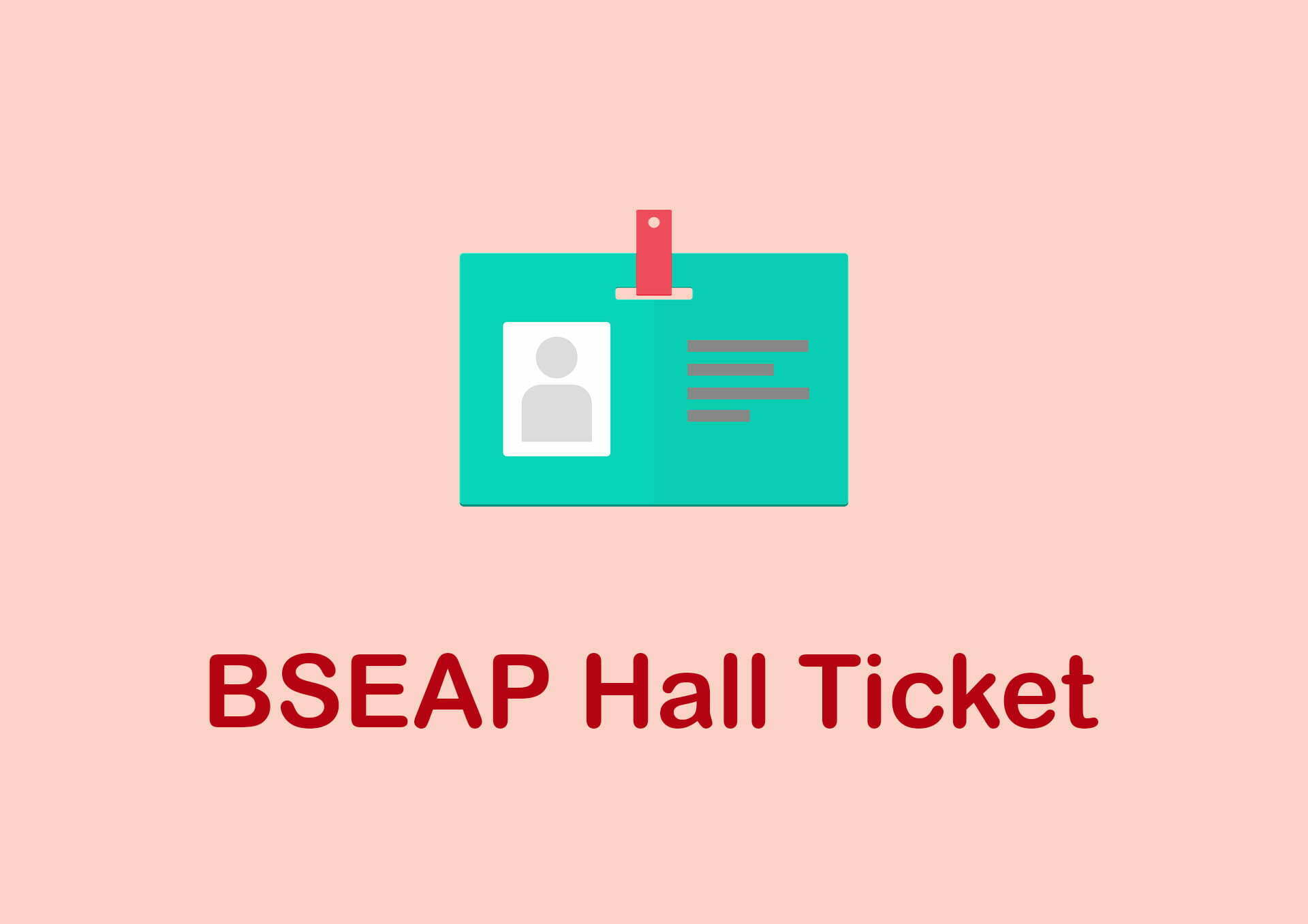 BSEAP Hall Ticket 2020 : Download AP 10th Class Hall Ticket