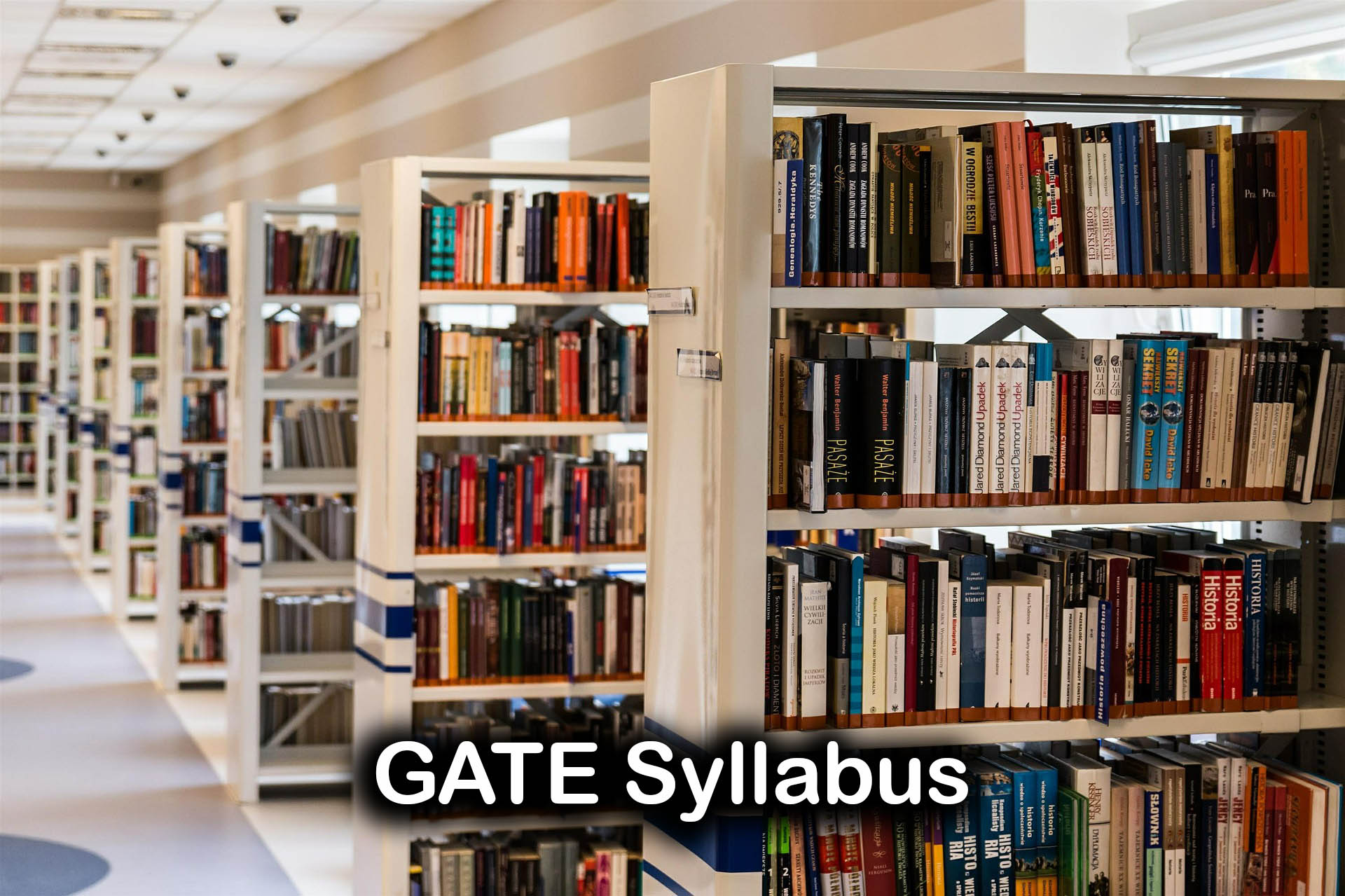 GATE 2020 Syllabus For All Subjects PDF Download Including Aptitude