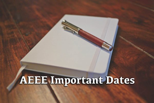 AEEE Important Dates