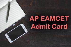 AP EAMCET Admit Card