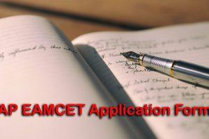 AP EAMCET Application Form