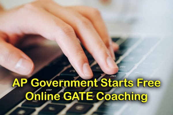 AP Government Starts Free Online GATE Coaching