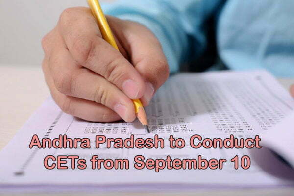 AP Govt to Conduct CETs from Sept 10