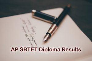 AP SBTET Diploma Results