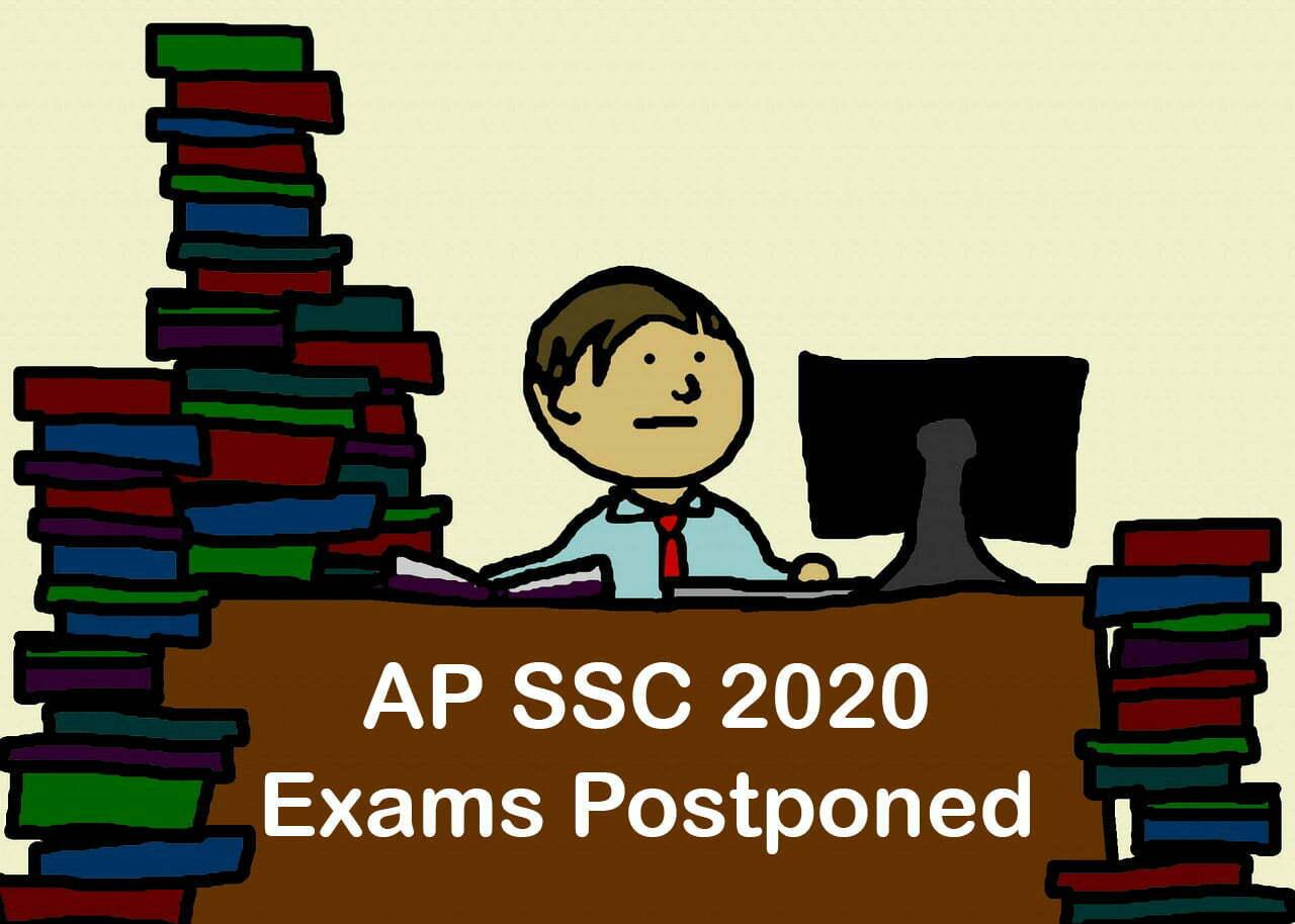 AP SSC Exams 2020 Postponed