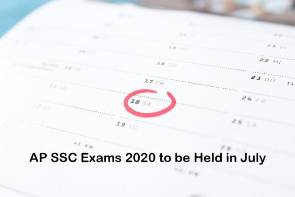 AP SSC Exams 2020 to be Held in July