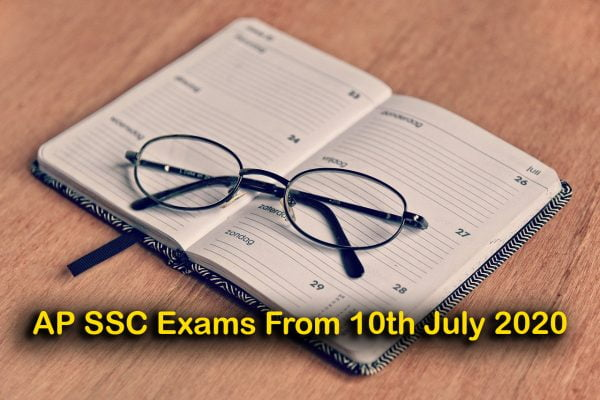 AP SSC Exams From 10th July 2020