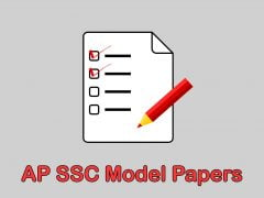 AP SSC Model Papers 2020 & AP 10th Previous Year Question Papers March 2019