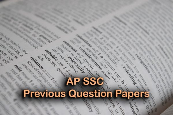 AP SSC Previous Question Papers