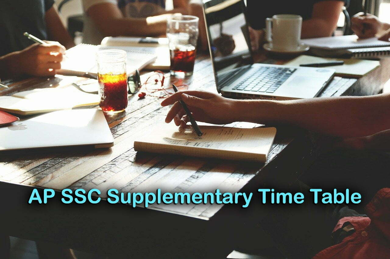 AP SSC Supplementary Time Table