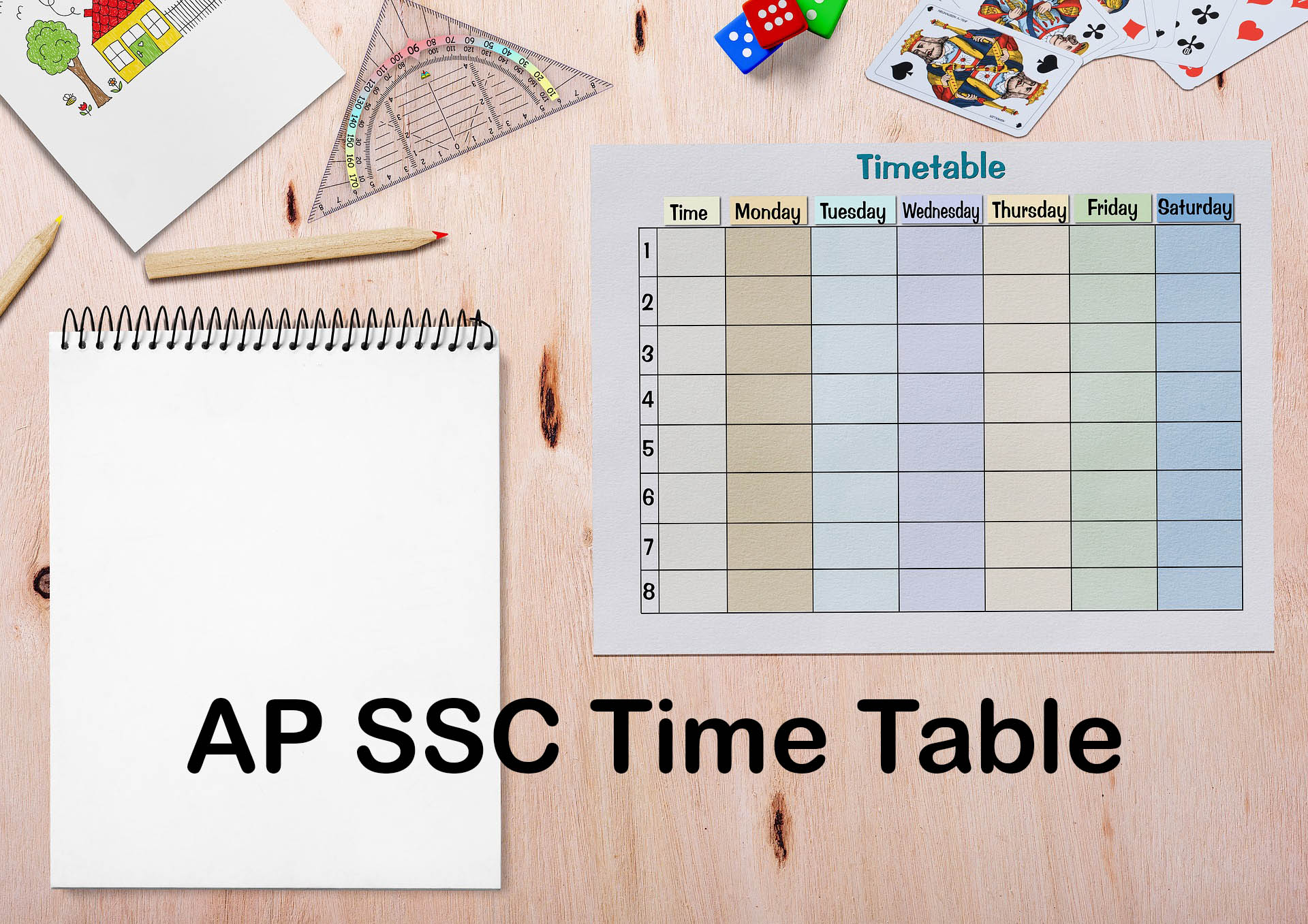 AP SSC Time Table 2020 : Download AP 10th Exam Time Table 2020 PDF