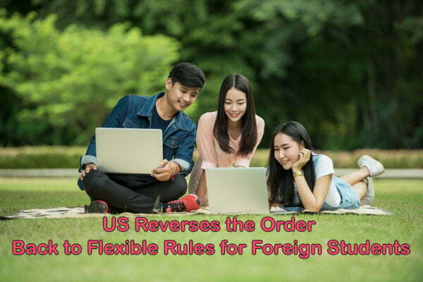 Again Flexible Rules for Foreign Students by US