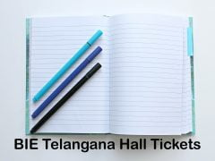 BIE Telangana Hall Tickets 2020 : Download TS Intermediate Hall Tickets