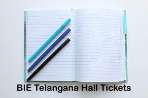 BIE Telangana Hall Tickets
