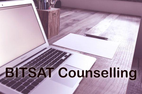 BITSAT Counselling