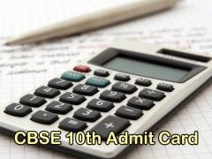 CBSE 10th Admit Card 2020 : Download CBSE 10th Class Admit Card