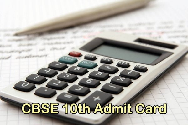 CBSE 10th Admit Card