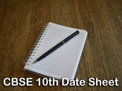 CBSE Class 10 Date Sheet 2020 : Download CBSE 10th Time Table PDF