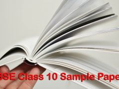 CBSE Class 10 Sample Papers 2020 with Marking Scheme