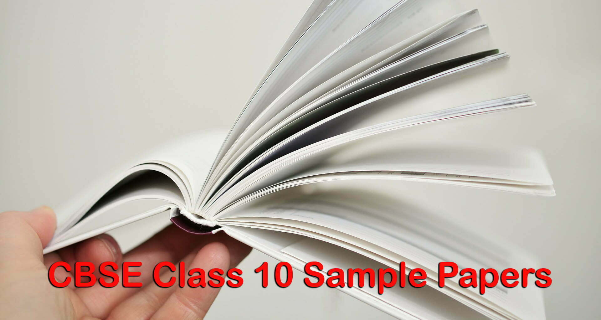 CBSE Class 10 Sample Papers