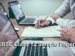 CBSE Class 12 Sample Papers 2020 with Marking Scheme