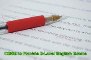 CBSE to Provide 2-Level English Exams