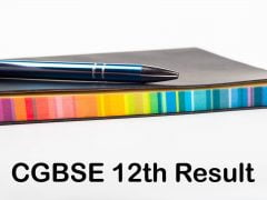 CGBSE 12th Result 2020 : CG Board 12th Class Result 2020 Online