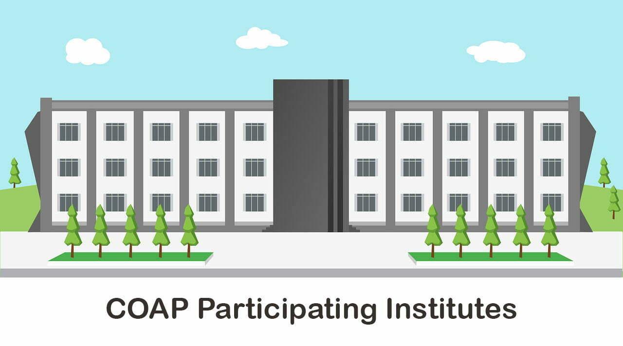 COAP Participating Institutes