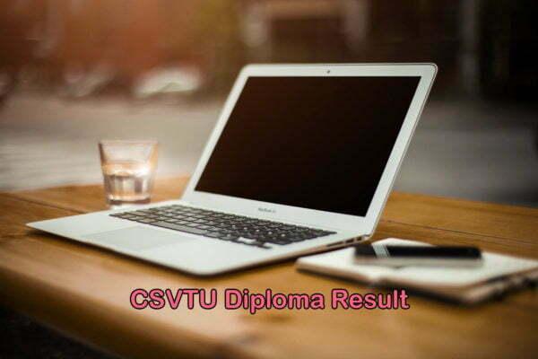 CSVTU Diploma Result