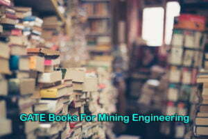 GATE Books For Mining Engineering