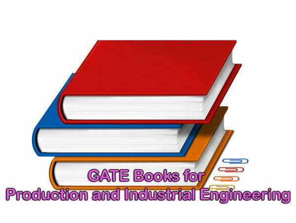 GATE Books for Production and Industrial Engineering