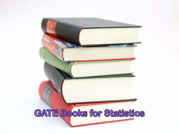 GATE Books for Statistics