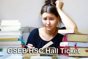 GSEB HSC Hall Ticket