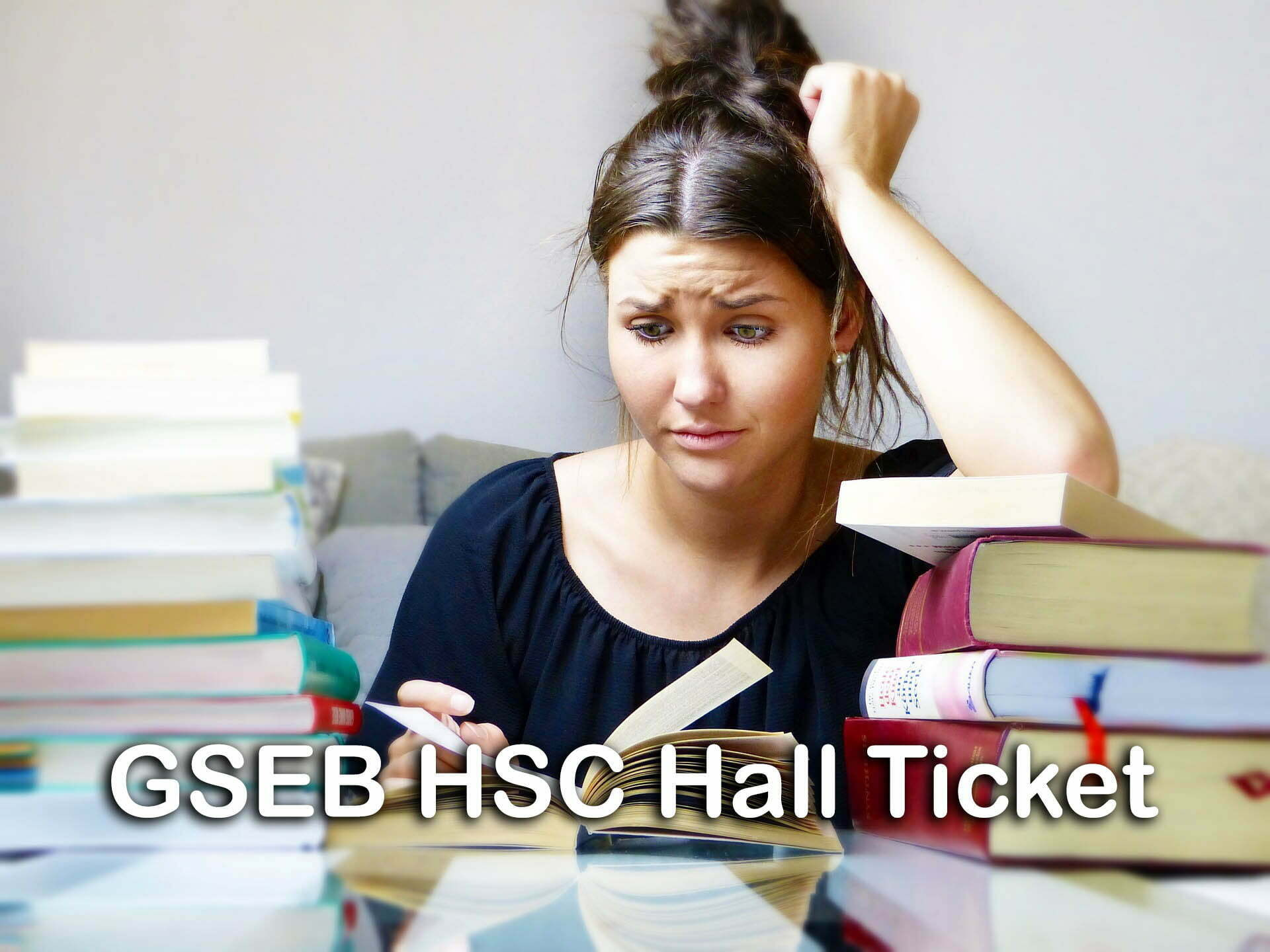 GSEB HSC Hall Ticket