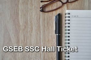 GSEB SSC Hall Ticket