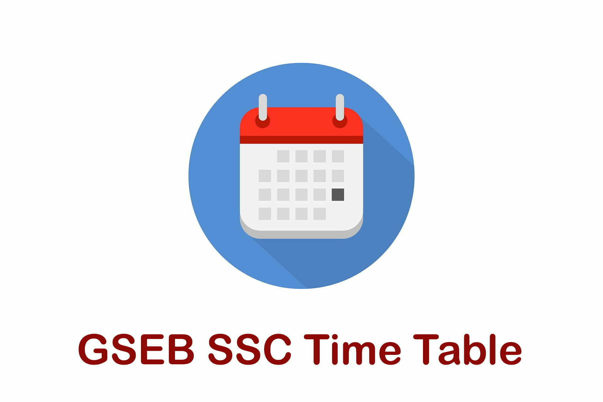 GSEB SSC Time Table 2020 : Download Gujarat Board 10th Date Sheet 2020 PDF