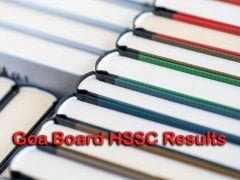 Goa Board HSSC Result 2020: GBSHSE Class 12th Result Online