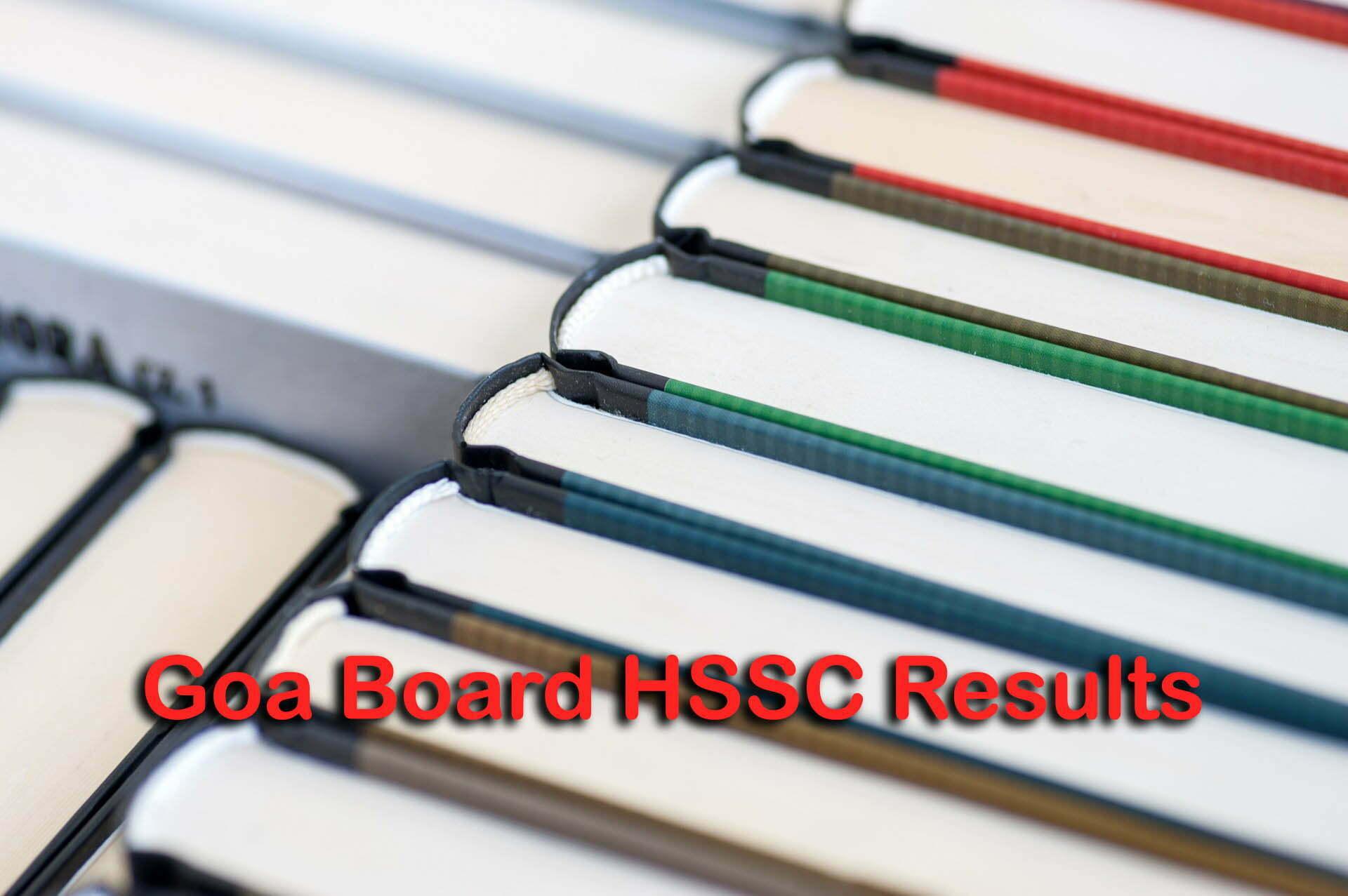 Goa Board HSSC Results