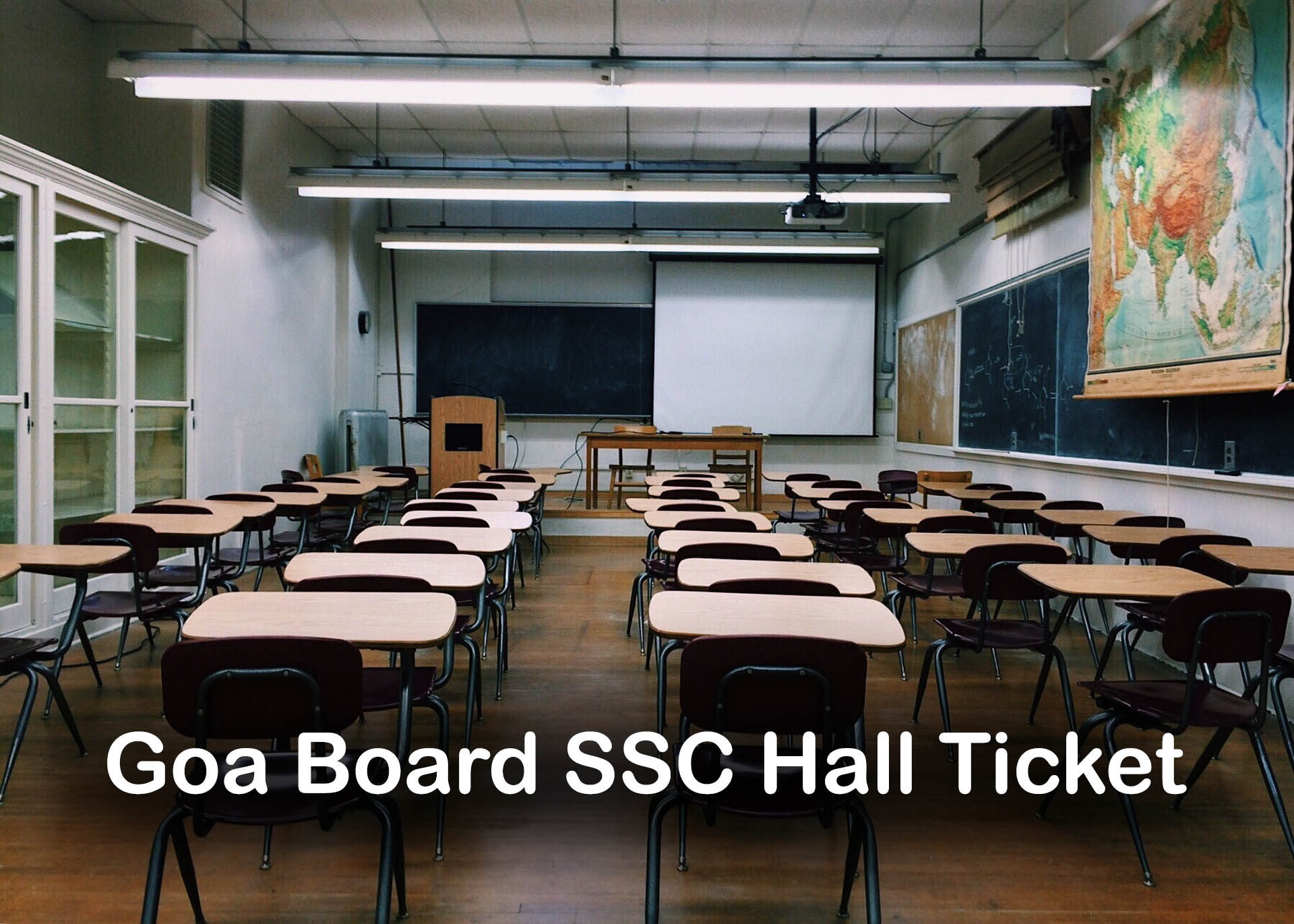 Goa Board SSC Hall Ticket 2020 : Download GBSHSE 10th Hall Ticket