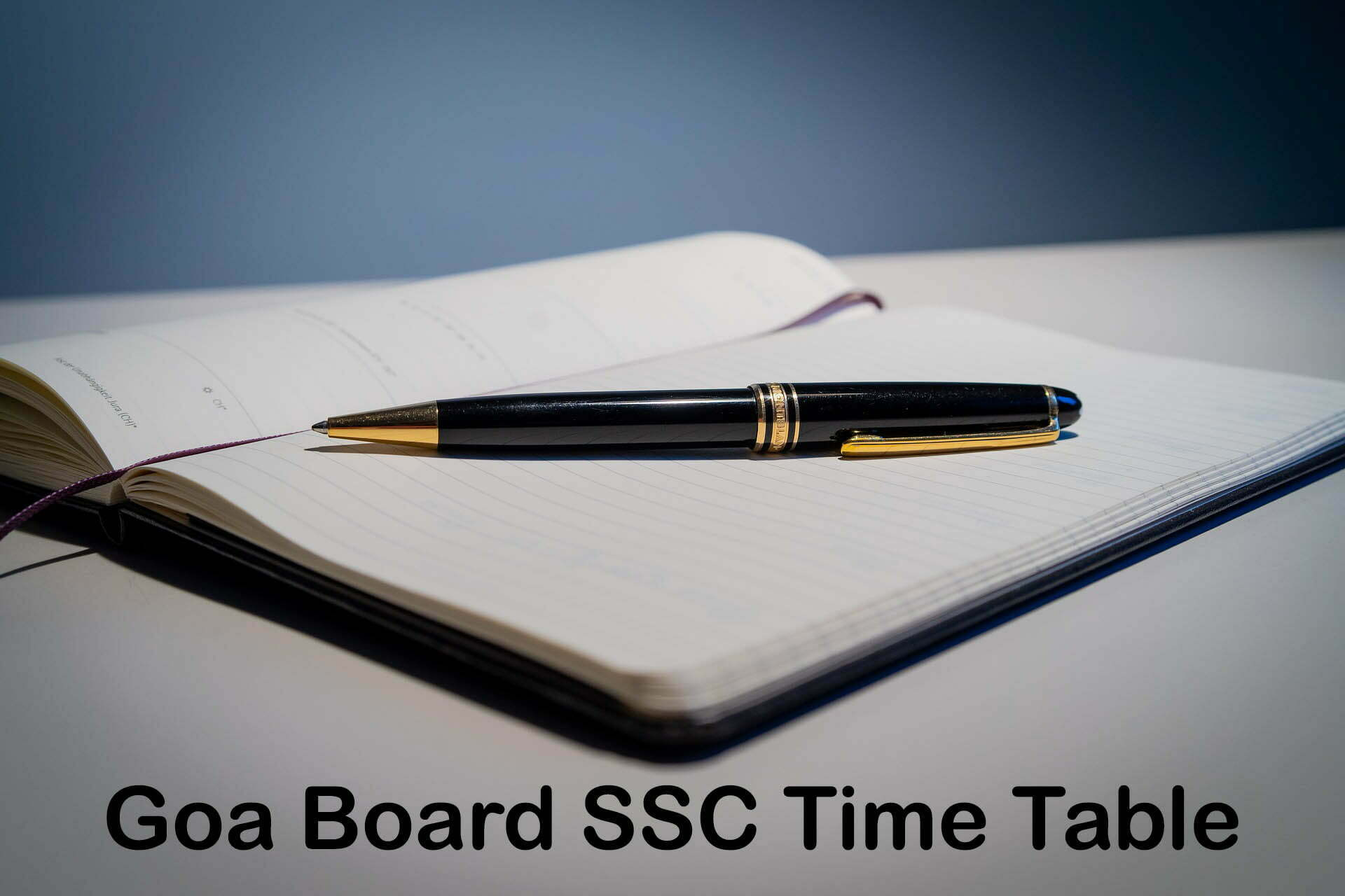 Goa Board SSC Time Table 2020 : Download GBSHSE 10th Class Time Table PDF