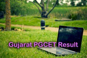 Gujarat PGCET Result