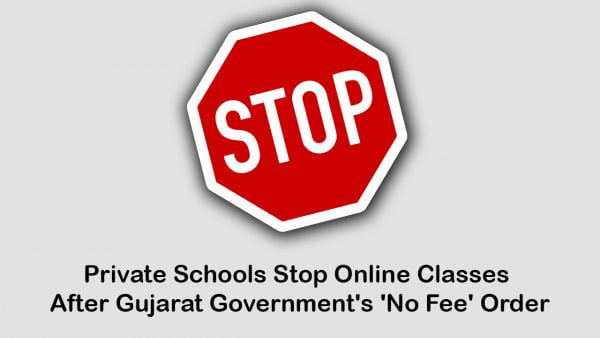 Gujarat Private Schools Stop Online Classes