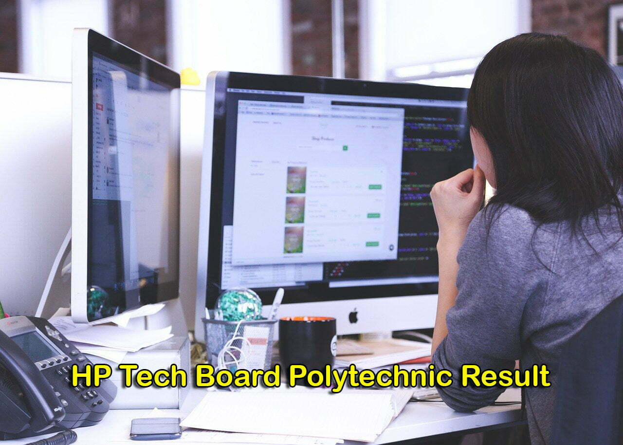HP Tech Board Polytechnic Result