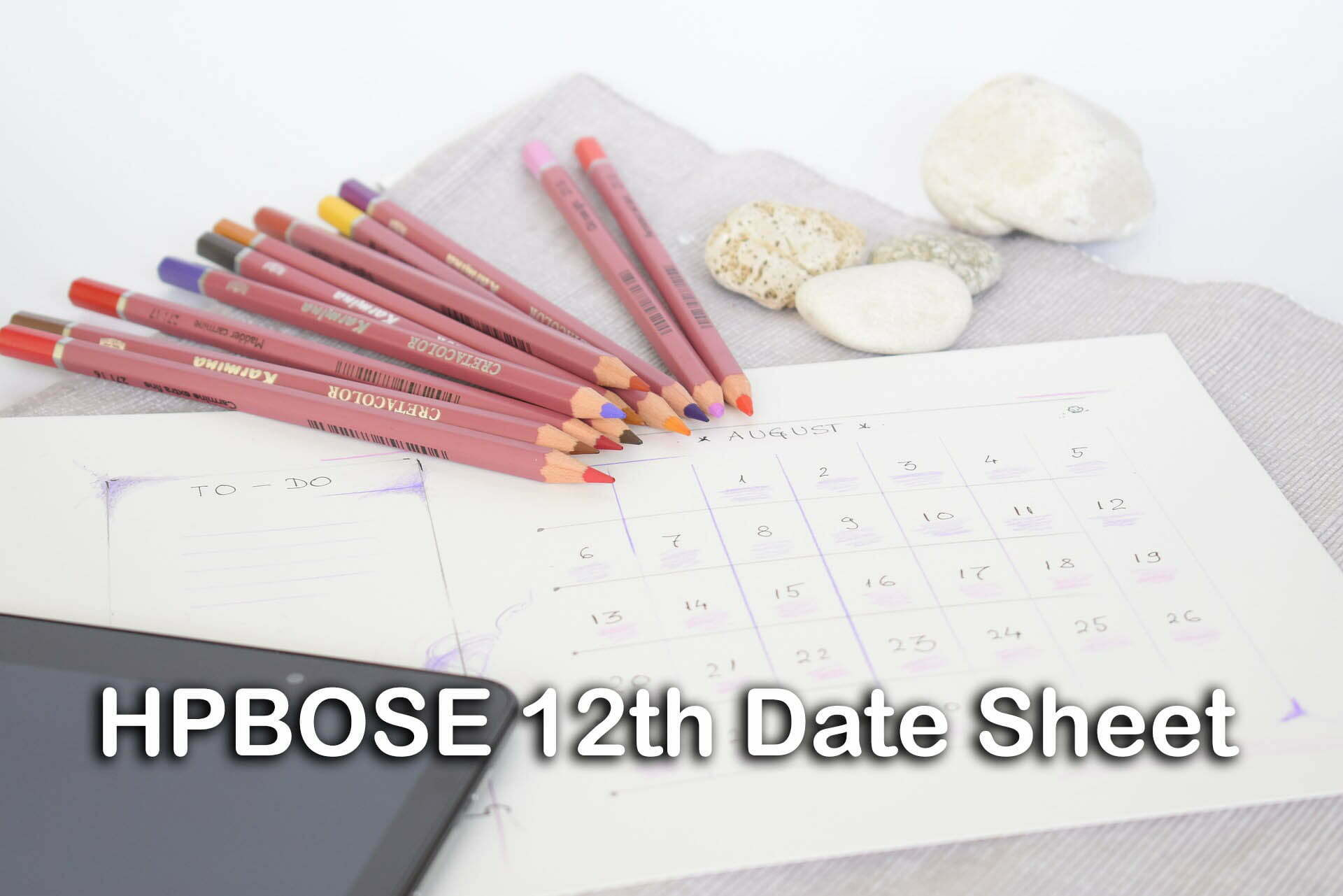 HPBOSE 12th Date Sheet 2020 : HP Board 12th Date Sheet PDF Download