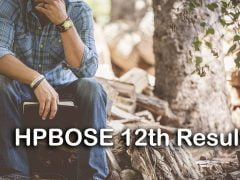 HPBOSE 12th Result 2020 : HP Board +2 Result 2020 @ hpbose.org