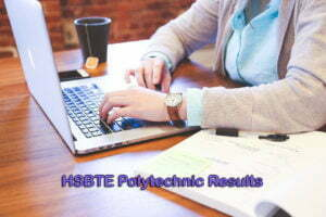 HSBTE Polytechnic Results