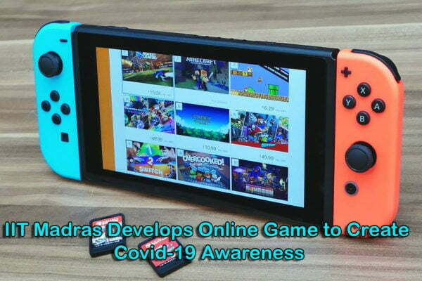 IIT Madras Develops Online Game to Create Covid-19 Awareness