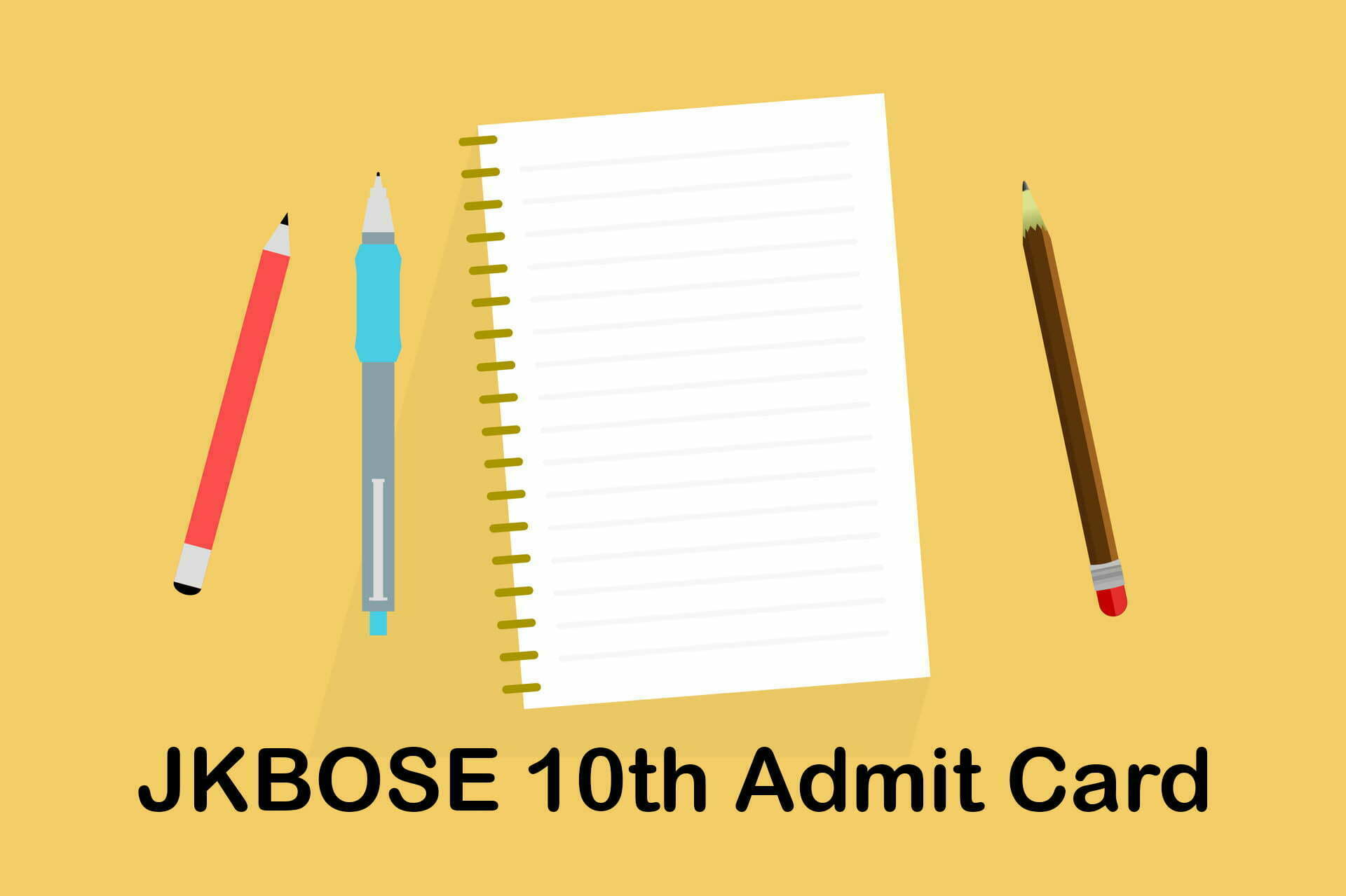 JKBOSE 10th Admit Card