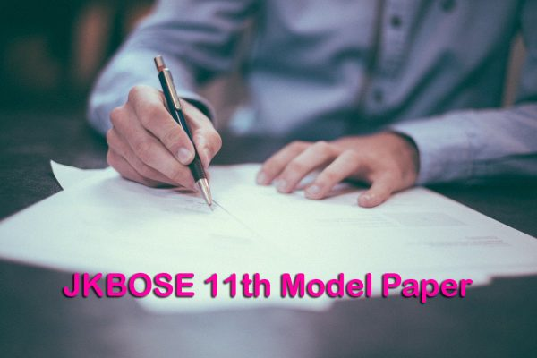 JKBOSE 11th Model Paper
