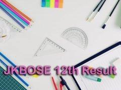 JKBOSE 12th Result 2020 : JK Board 12th Class Result 2020